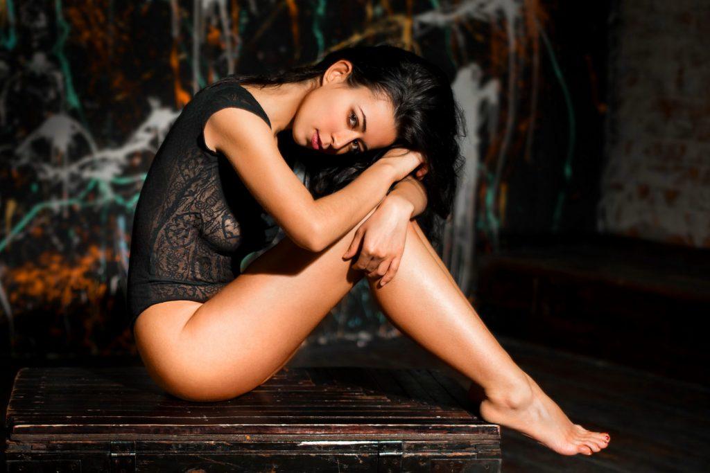 Sexy legs girl